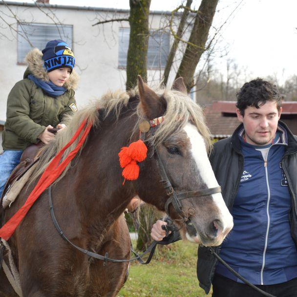 Mikuláš na koni 2018