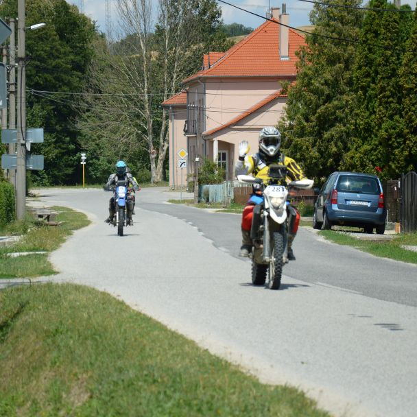 Rally kopanice Moto 2018