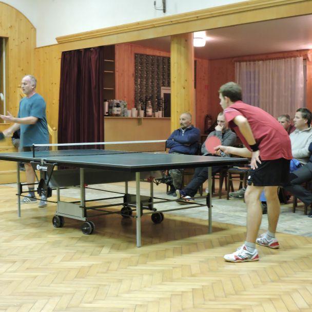 Turnaj v stolnom tenise 2018